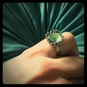 Vintage-esque cocktail ring
